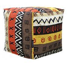 Внешний чехол для пуфика African Symbols