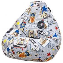 Кресло мешок груша SMALL Bulldog
