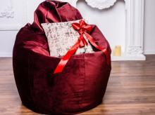 Кресло мешок груша BIG Silk Shine 52