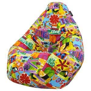 Кресло мешок груша SUPER BIG Exotic