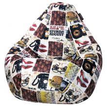 Кресло мешок груша SUPER BIG Fashion Vintage