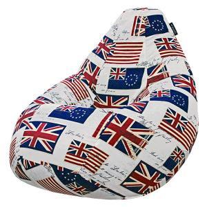 Кресло мешок груша SUPER BIG Flag of England
