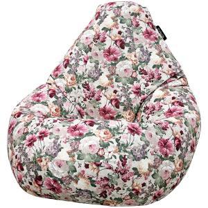 Кресло мешок груша SUPER BIG Flores