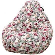 Кресло мешок груша SMALL Flores