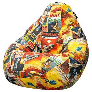 Кресло мешок груша SUPER BIG Galaxy