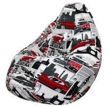 Кресло мешок груша SMALL Jaguar