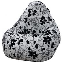 Кресло мешок груша SUPER BIG Julia Grey