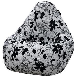 Кресло мешок груша SMALL Julia Grey