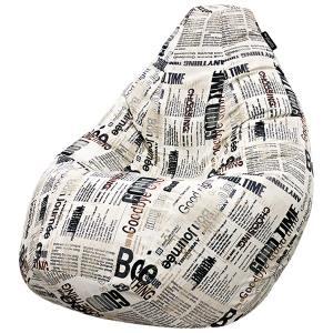 Кресло мешок груша BIG Newspaper