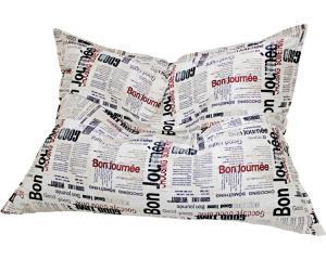 Кресло подушка Newspaper