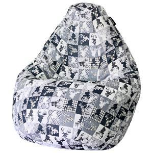 Кресло мешок груша SUPER BIG Oleni Blue