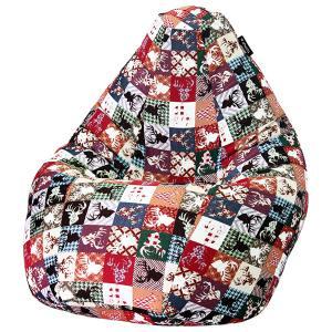 Кресло мешок груша SUPER BIG Oleni Red