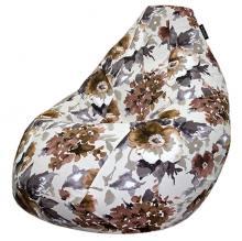 Кресло мешок груша SMALL Olivia Brown