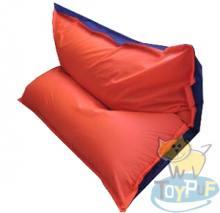 Кресло подушка Oxford Electric vs Orange