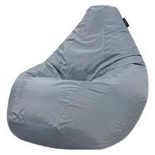 Кресло мешок груша BIG Oxford Grey