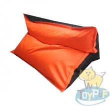 Кресло подушка Oxford Orange vs Black