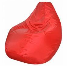 Кресло мешок груша BIG Oxford Scarlet