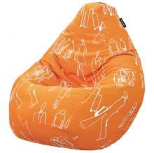Кресло мешок груша BIG People Orange
