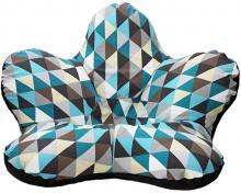 Кресло цветок Rombus Blue