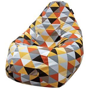 Кресло мешок груша SUPER BIG Rombus