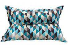 Кресло подушка Rombus Blue