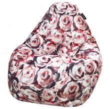 Кресло мешок груша SUPER BIG Rose 02