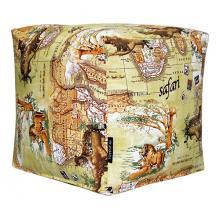 Пуфик Safari Map