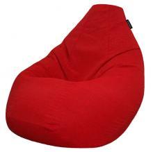 Кресло мешок груша SUPER BIG Selena Red